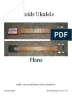 Altoids Ukulele Plans