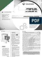 Manual Masseira Venancio VAEM25 VAEM40