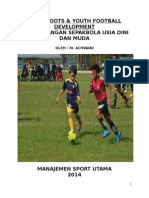 Grassroots & Youth Football Development