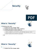 Network Security Introductory Lecture