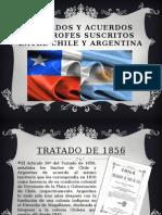 Tratados y Acuerdos Limitrofes Suscritos Entre Chile y
