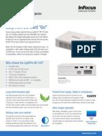 InFocus LightPro IN1142 Datasheet