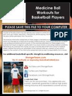 Medicine Ball Workouts for Basketball Players