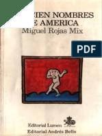 Rojas Mix Miguel - Los Cien Nombres de America (Img)