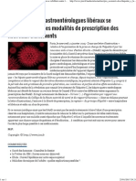 JIM.fr - Hépatite C Les Gastroentérologues Libéraux Se Rebiffent Contre Les Modalités de Prescription Des Nouveaux Traitement