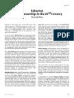 Editorial Entrepreneurship in the 21st Century