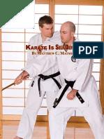 Karate is Self-Defense