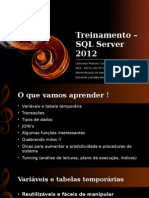 Treinamento – SQL Server 2012