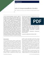 The role of orthodontics in temporomandibular disorders