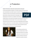 Foundation Production- Evaluation Q2