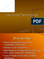 Insurance Terminology - Copy.ppt