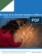 México Reporte DH Activistas