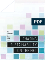 Lectura Chasing Sustainability on the Net 2012