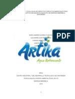 Informe de Evaluacion de Impactos Ambientales Corregido