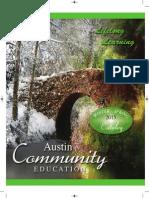 Austin Community Education Winter/Spring 2014-15