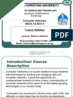 1BSCS2 Computer Networks Syllabus