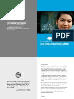 PSP's 2015 Education Programming