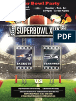 Superbowl Party 2015