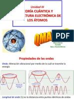 Unidad 3 Teoria Cuántica y Estructura Electrónica de Los Átomos