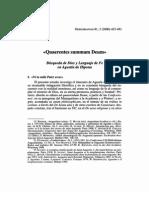 Félix Alejandro Pastor - «Quaerentes summum Deum» Búsqueda de Dios y Lenguaje de Fe en Agustín de Hipona. Gregorianum, Vol. 81, No. 3. 2000..pdf