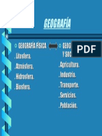 Estructura de la Geografía
