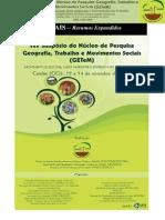 Anais Do Getem 2012 - Resumos Expandidos