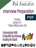 PVMA Interview Mtg