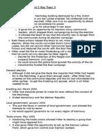 History Revision – Unit 2 Key Topic 3
