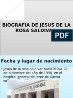 Biografia de Jesus de La Rosa Saldivar