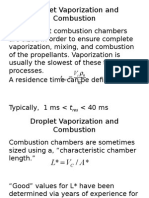 Droplet Vaporization