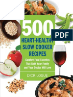 Dick Logue-500 Heart-healthy Slow Cooker Recipes_ Comfort Food Favorites That Both Your Family and Doctor Will Love-Fair Winds Press (2010)