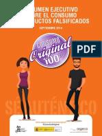 RESUMEN EJECUTIVO SOBRE EL CONSUMO DE PRODUCTOS FALSIFICADOS