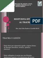 respuestasistemicaaltrauma-130814023854-phpapp01