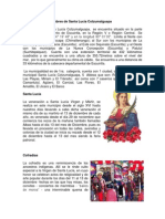 Tradiciones y Costumbres de Santa Lucia Cotzumalguapa