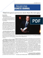 Philadelphia Business Journal Interview