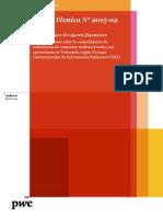 Alerta Técnica N° 2015 - 02 - Asuntos clave de reporte financiero (Versión Español)