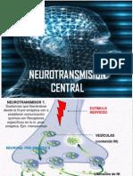 Neurotrasmisión Central