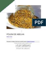 o Pólen Das Abelhas