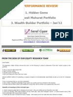 Saral Gyan Stocks Past Performance 050113