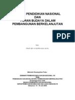 Sistim Pendidikan Nasional - Ki Supriyono