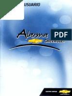 Manual Alarma Chevystar