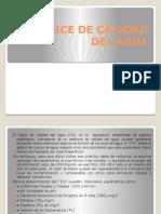 Indice de Calidad Del Agua. Panamá