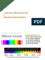 Temperatura de Color Semana 2