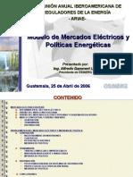 Guatemala Mercado Electrico Politica Energetica