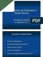 1. Introdução à Psiquiatria e Saúde Mental