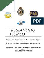 REGLAMENTO FIAT 128 CDA