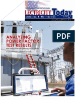 Analyzing Power Factor Test Results Paper ENU