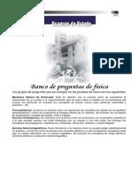 Física ,Banco de Preguntas ICFES