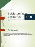 Episiotomias y Desgarros