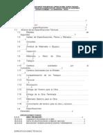 Especificaciones Técnicas Puente Pomoreni
